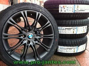 pack jantes bmw m3 black 18 pouces pour serie 5 6 pneus nankang snow sv 2 245 45x18 100 v xl. Black Bedroom Furniture Sets. Home Design Ideas