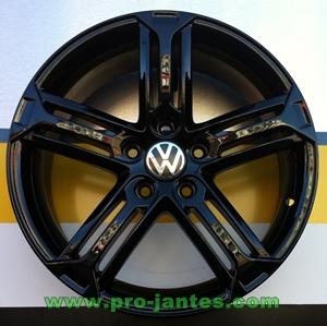 Pack Jantes Volkswagen Racing Black Brillant Tiguan Scirocco Jetta Eos Passat Bora 17 Pouces Boutique Www Projantes Com